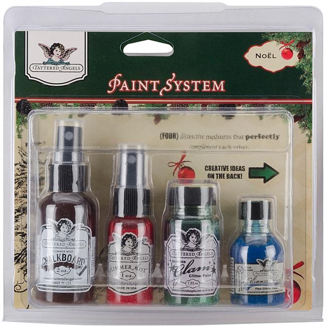Noel 'Tattered Angels' Paint System Kit