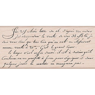 Hero Arts 'Old French Writing' Mounted Rubber Stamps