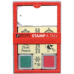 Hero Arts 'Ornaments' Mounted Rubber Stamp And Tag Set
