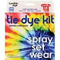Tumble Dye Washable Nontoxic Water-based Craft And Fabric Dye Kit