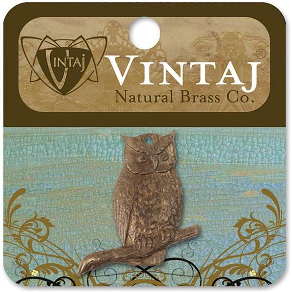 Vintaj 'Perching Owl' Metal Accent