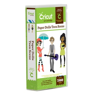 Cricut Paper Dolls Teen Scene Everyday Cartridge