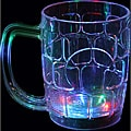 Multicolor Flashing Beer Mugs (Set of 12)