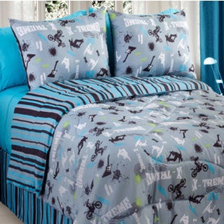 Action Sports 4-piece Queen-size Comforter Set
