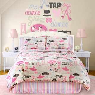Dance Princess 4-piece Full-size Comforter Set
