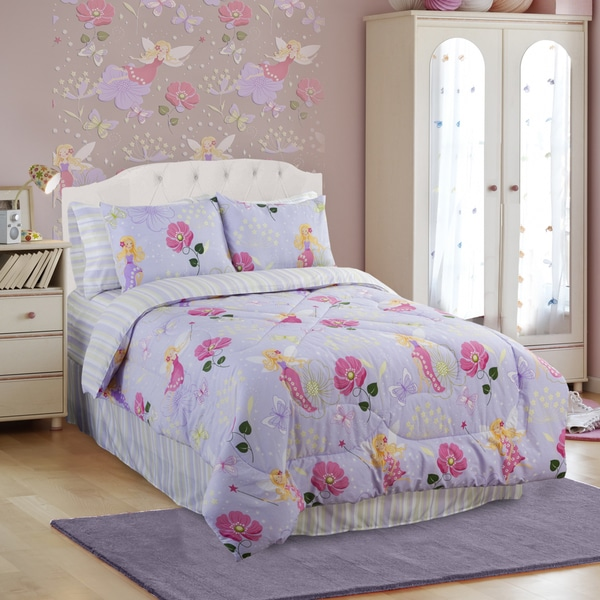 Glow In The Dark Magic Fairy 4-piece Queen-size Comforter Set