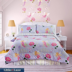 Glow In The Dark Magic Fairy 4-piece Full-size Comforter Set