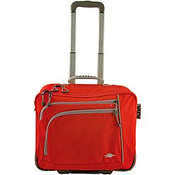 Kiva Packing Genius Persimmon 17-inch Boardroom Rolling Laptop Case