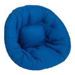 Scoop Blue Futon Chair