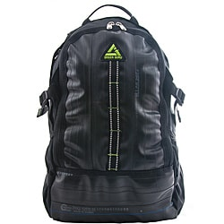 Black 'Spinner' 17-inch Laptop Backpack