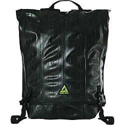 Black 'Ruckus' 17-inch Laptop Backpack
