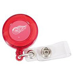 Aminco International NHL Detroit Red Wings Retractable Badge Reel