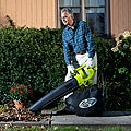 Sun Joe Blower Joe 3-IN-1 Electric Blower, Vacuum & Leaf Shredder - SBJ604E
