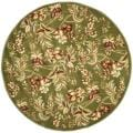 Safavieh Lyndhurst Collection Floral Sage Rug (7' Round)