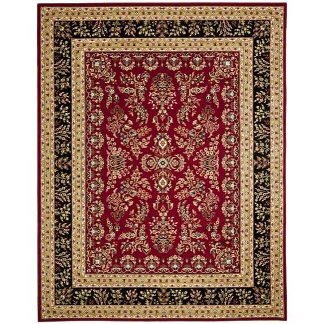 Safavieh Lyndhurst Collection Red/ Black Rug (9' x 12')