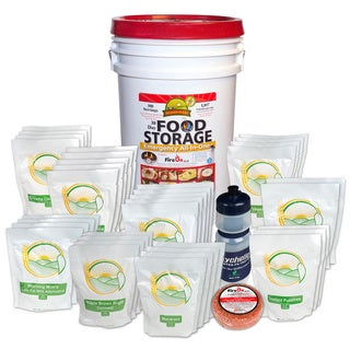 Augason Farms 300-servings 30-day Food Storage Emergency All-in-One Pail