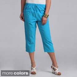 Salem Straits Women's Cotton Capris