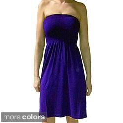 Tabeez Women's Seamless Stretch Tube Dress