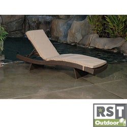 RST DelanoOutdoor Lounger Mattress Cushion Set (2 pack)