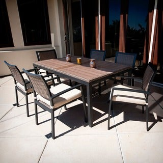 RST Brands Zen 7-piece Patio Furniture Dining Set