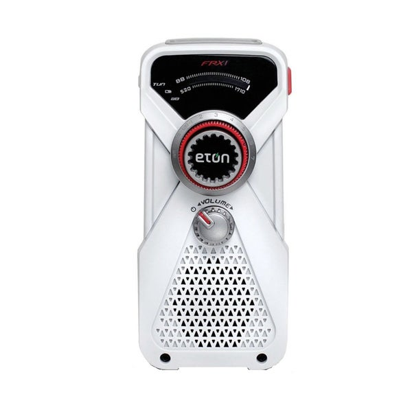 Eton Grundig ARCFRX1WXW American Red Cross Hand Turbine AM/FM Weather Alert Radio and LED Flashlight