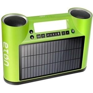 Eton Rukus Solar Speaker System - Wireless Speaker(s) - Green