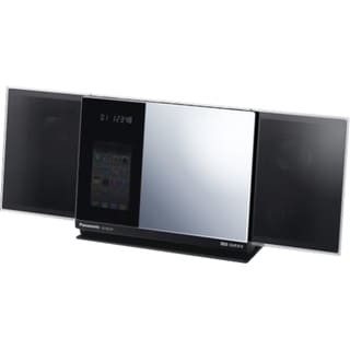 Panasonic SC-HC37 Micro Hi-Fi System - 40 W RMS - iPod Supported - St