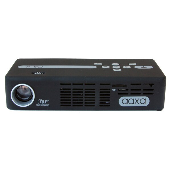 AAXA Technologies P4X Pico Pocket Projector 125 Lumens, 90min Battery
