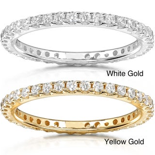 14k Gold 1/2ct TDW Diamond Eternity Wedding Band (G-H, I1-I2)