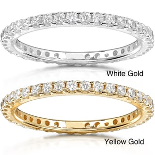 14k Gold 1/2ct TDW Diamond Eternity Wedding Band
