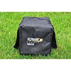St.Pierre Zippered Nylon Bag Tournament Bocce Ball Set
