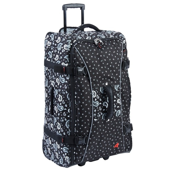 Athalon Bandanna Black 29-inch Hybrid Travelers Rolling Upright