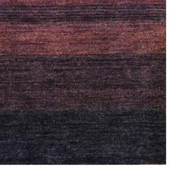 Indo Hand-knotted Tibetan Rust Wool Rug (4' x 6')