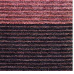 Indo Hand-Knotted Tibetan Rust Wool Area Rug (4' x 6')
