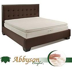 Comfort Sleep Green 12 Inch Cal King Pillowtop Memory Foam