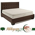 Abbyson Comfort 'Sleep-Green' 12-inch Cal-King Pillowtop Memory Foam Mattress