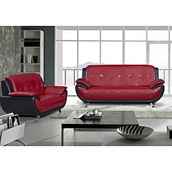 Marquee Two Tone Sofa and Loveseat
