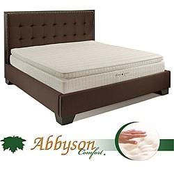 Abbyson Comfort 'Sleep-Green' 12-inch Queen-size Pillowtop Memory Foam Mattress
