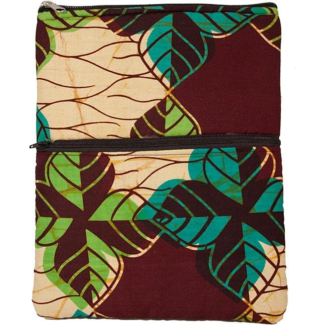 Leaf Wax Print iPad/ Kindle/ Nook Case (Rwanda)