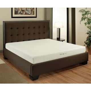 ABBYSON LIVINGAbbyson Comfort 'Sleep-Green' 8-inch Queen-size Memory Foam Mattress