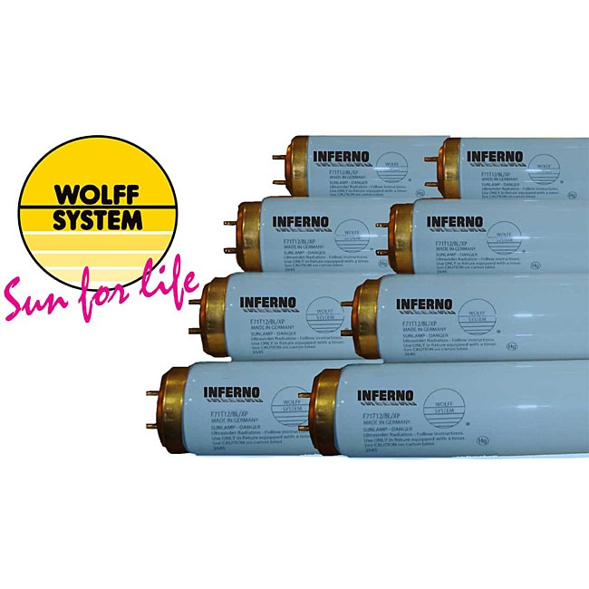 Wolff System 9.9 UVB Inferno Bronzing Tanning Lamp (Case of 24)