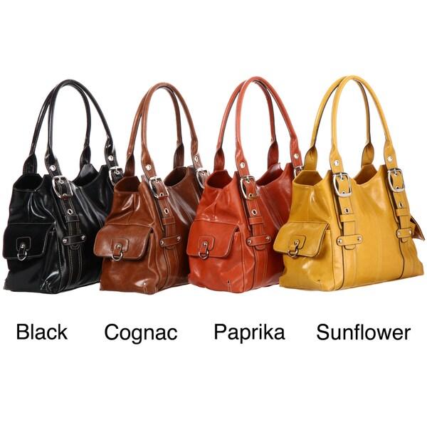 Mondani Monica Stitch Detail Tote Bag