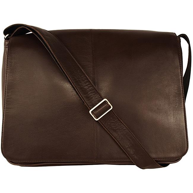 Latico 'Heritage' Cafe Leather Messenger Bag