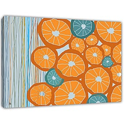 Ankan 'Oranges' Gallery-wrapped Canvas Art