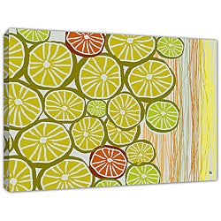Ankan 'Limes' Gallery-wrapped Canvas Art