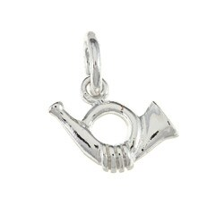 La Preciosa Sterling Silver French Horn Charm