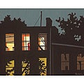 Peter Giaccio 'Window 2' Gallery-wrapped Canvas