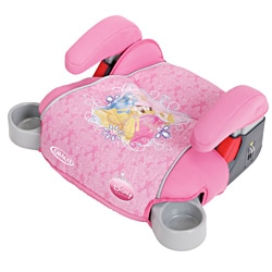 Graco TurboBooster Backless Car Seat in Jeweled Princess