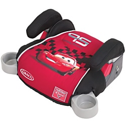 Graco TurboBooster Backless Car Seat in World of Cars