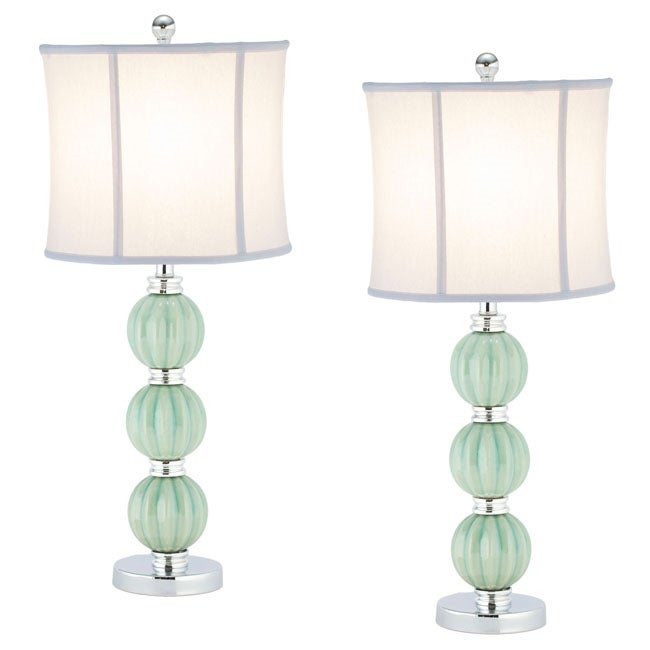 safavieh indoor 1 light jade inspired globes table lamps. Black Bedroom Furniture Sets. Home Design Ideas